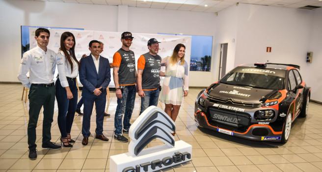 Alexey Lukyanuk y Emma Falcón desvelan su Citroën C3 R5