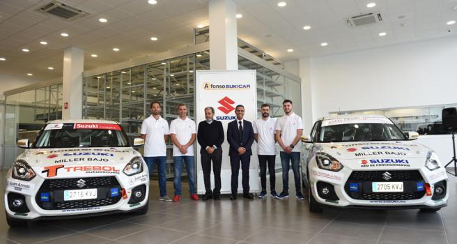 Ángel Marrero y Pablo Medina, veteranía y juventud para Suzuki