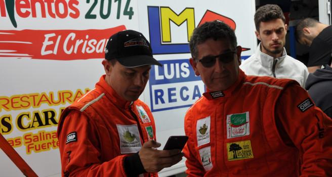 Quintana-Mujica logran puntuar en Galicia a pesar de dos pinchazos