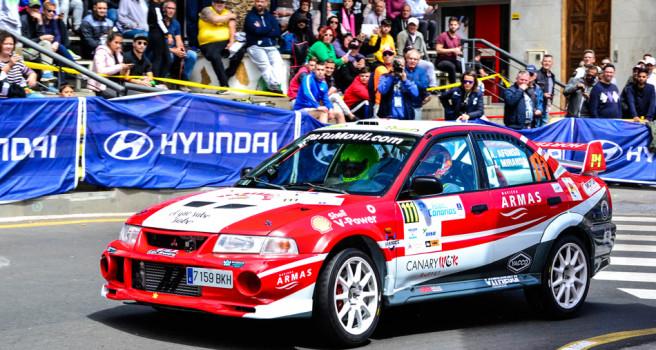 Rally Isla de Gran Canaria. Itinerario y orden de salida