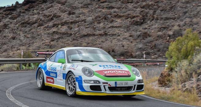 Enrique Cruz y el equipo DISA Copi Sport, afrontan otro reto en La Palma
