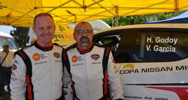 La Copa Nissan Micra aporta emoción al Rally Villa de Teror