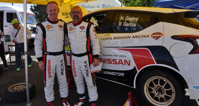 Heriberto Godoy y Víctor García campeones de la Copa Nissan Micra