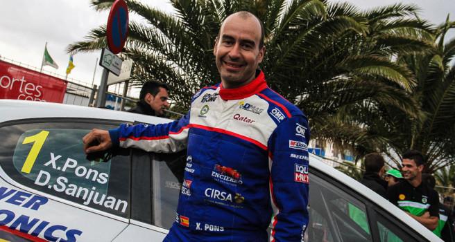 Xevi Pons, campeón del CERT, favorito en Isla Los Volcanes-Lanzarote