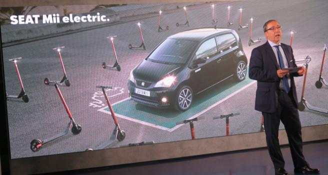Seat Mii eléctrico 100%, autonomía 260 km. Ágil y urbano