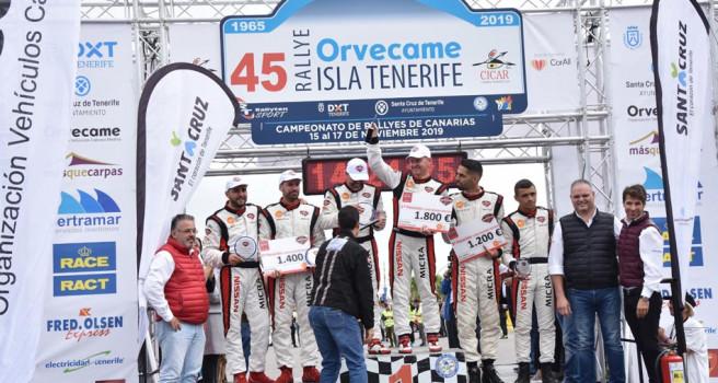 Brillante final de la Copa Nissan Micra con victoria de Godoy-García
