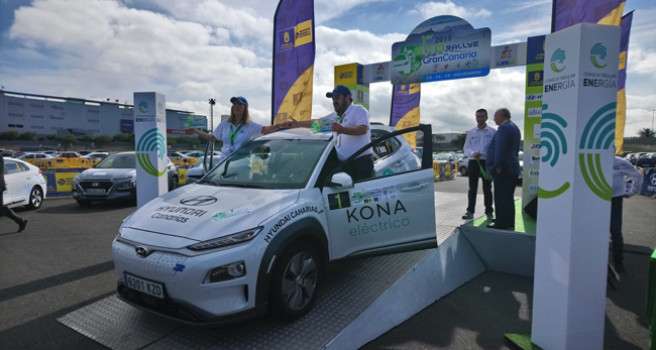 Txema Foronda-Pilar Rodas ganan el I ECO-Rally Isla de Gran Canaria