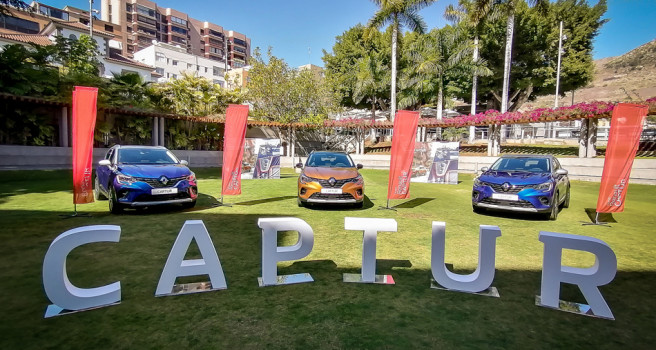 Nuevo Renault Captur ya está en Canarias desde 14.700 euros