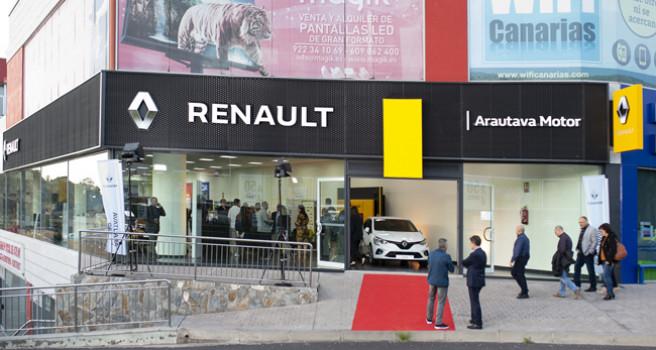 Renault ARAUTAVA MOTOR S.L., inaugura instalaciones en La Orotava