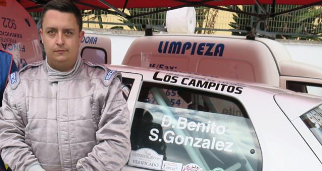 Santi González, nuevo copiloto de Domi Guerra, en el Renault Clio