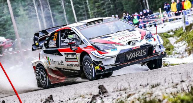 Evans con Toyota Yaris, aumenta su ventaja en Suecia. 2º Etapa