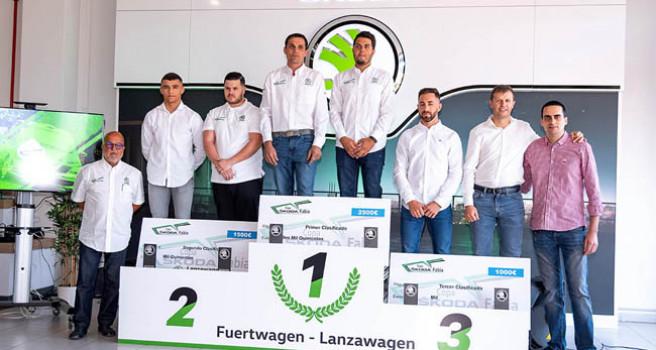 La Copa Škoda entrega premios. Cuatros equipos en 2020 con Fabia N3