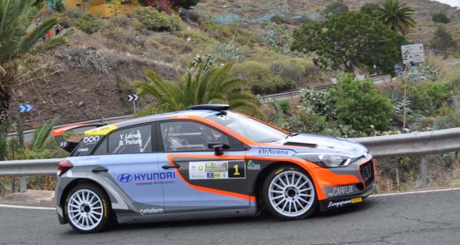 Yeray Lemes-Rogelio Peñate ganan el Rally Santa Brígida, pos COVID-19