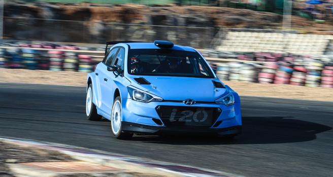 Lemes y Toñi ruedan con los nuevos i20 R5. Tests en Maspalomas