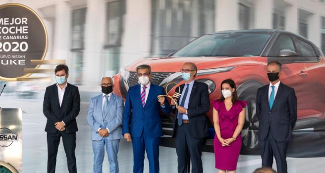 El Nissan Juke recibe el galardón de 'Mejor Coche de Canarias-2020'