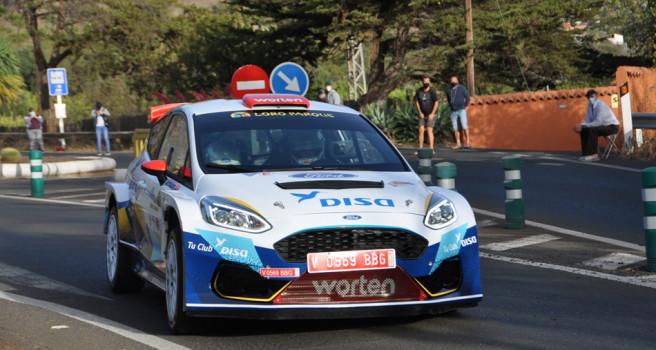 Enrique Cruz, Ford Fiesta R5, debut y victoria en el Isla de Gran Canaria