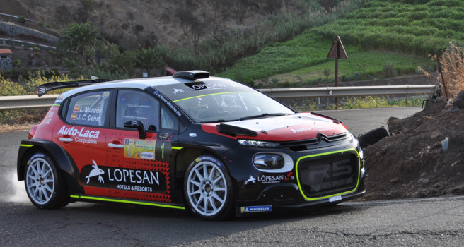 Luis Monzón-José Carlos Déniz ganan el Rally Comarca Norte